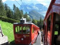 Pilatus, montagna incantata da scalare con la ferrovia