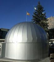 Cortina inaugura il planetario