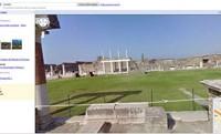 Pompei visibile con Street View