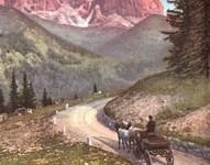 Cortina, cento anni di strada delle Dolomiti