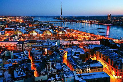 Riga e Umeå: la cultura dal Nord