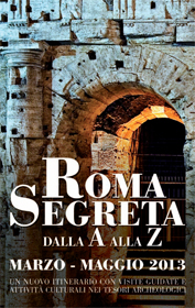Roma Segreta, visite guidate alla città sotterranea