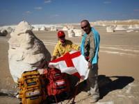 Lo sguardo oltre le dune del deserto egiziano