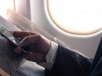 Usare lo smartphone in volo