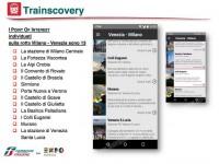Trainscovery, l'app che guida i viaggiatori a scoprire l'Italia