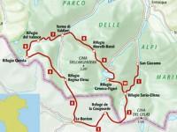 Il trekking del lupo tra Piemonte e Francia