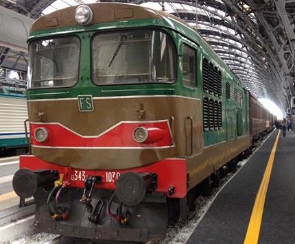 In Valsesia con i treni storici della Fondazione FS