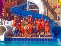 Scivoli e giochi d'acqua sul Mar Rosso