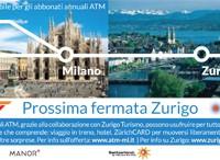 In tram da Milano a Zurigo