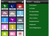 Nuovo aggiornamento di luglio della App iMontBlanc