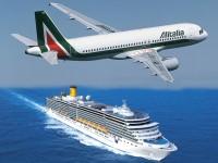 Costa Crociere decolla con Alitalia