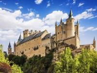 Castello Alcazar di Segovia, Spagna