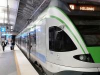 Helsinki, attivo il nuovo collegamento ferroviario con l'aeroporto