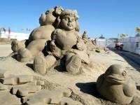 Cervia e il magico mondo delle sculture di sabbia