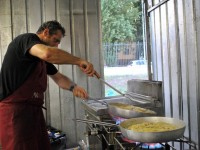 Fiumicino e la festa degli spaghetti con le vongole