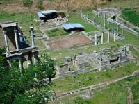 Volterra, anfiteatro romano vicino a Porta Diana