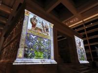 Ara Pacis torna all'antica bellezza con luci e colori 3D