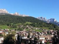 Val di Fassa Moena-panorama