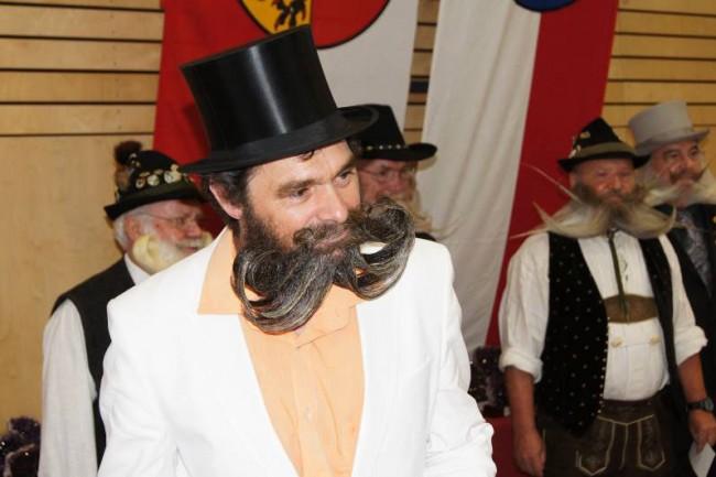 Tutti pronti per il campionato mondiale delle barbe