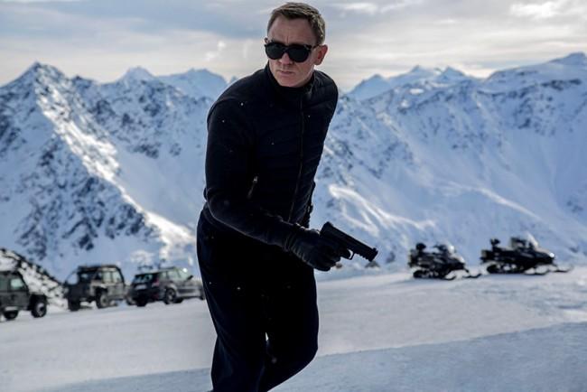Sölden, sport invernali e azione con James Bond 007