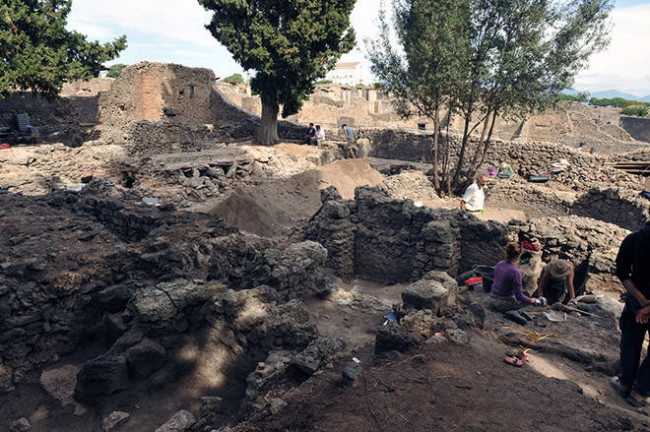 Pompei, Terme Repubblicane