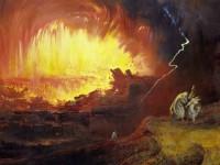 "John Martin, ""Sodom and Gomorrah"""