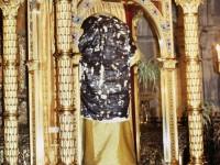La Sacra Tunica di Cristo esposta a Pontoise