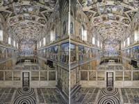 Cappella Sistina, prima e dopo il restauro