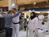 I controlli nell'aeroporto di Sharm El Sheik