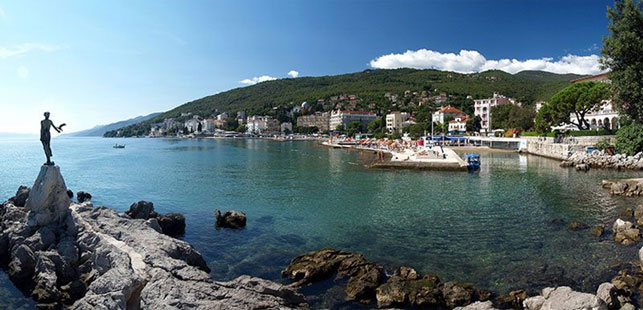 Abbazia, Croazia