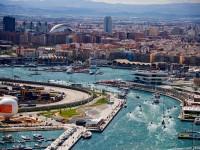 Panoramica della città di Valencia