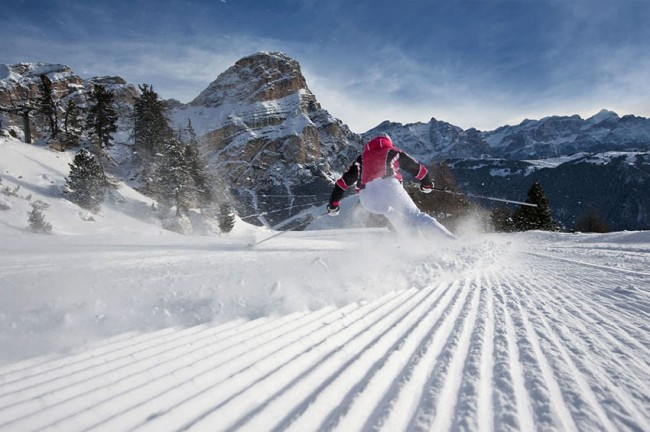 Vacanze no limits sugli sci in Alta Badia