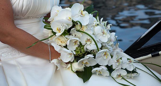 Bouquet Da Sposa Orchidee.Bouquet Da Sposa Con Orchidee Mondointasca