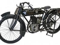 Premier 3 1/2HP - Acquistata a Milano nel 1913, si presenta in un ottimo stato di conservazione