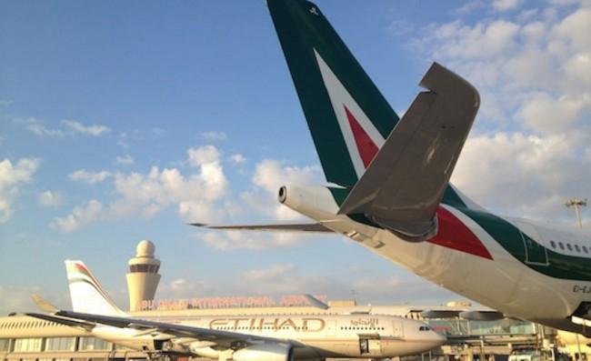 Alitalia posti a tariffe scontate per volare nel 2016