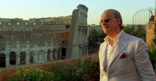 """La casa di Jep Gambardella in Piazza del Colosseo, nel film di Sorrentino """"La grande bellezza"""""""