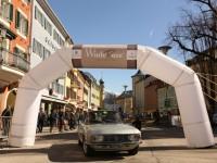 Cortina, le auto d'epoca si sfidano nella WinteRace