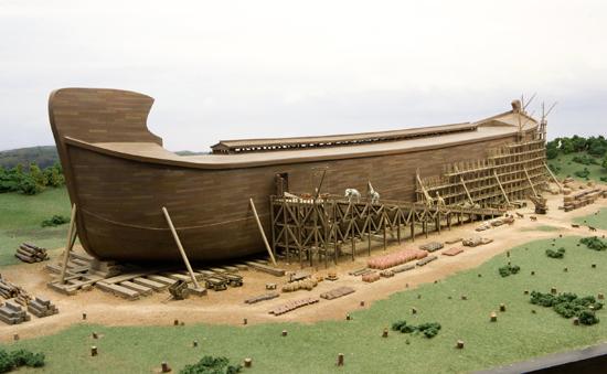 """Come spiegate questo? Video recentissimo """"scoperta l'Arca di Noè"""" Ark-encounter"""