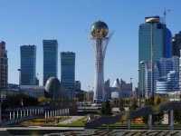 Astana, capitale del Kazakistan