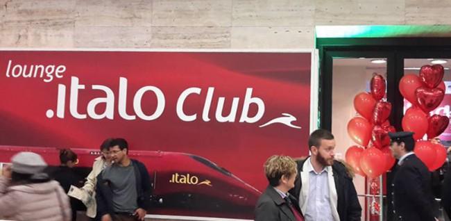 Italo, inaugurata Lounge alla stazione Termini di Roma