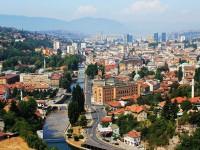 Sarajevo, panorama della città