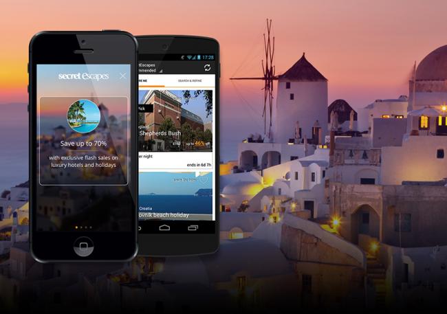 Secret Escapes: app italiana per offerte di lusso