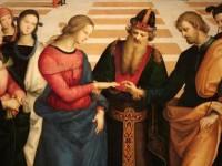 """""""Sposalizio della Vergine"""", Raffaello, particolare"""