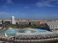 La città delle arti e delle scienze, disegnata dall'archistar Santiago Calatrava