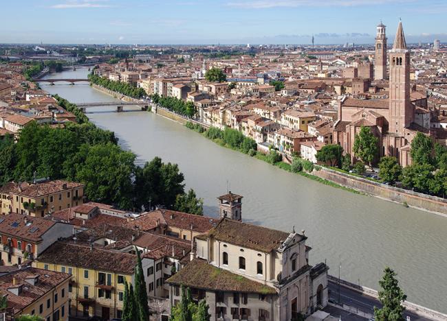 Pasqua a Verona, romantico salotto del Veneto