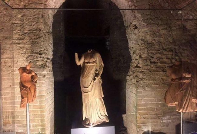 Pompei: grande gioia per la riapertura dell' Antiquarium