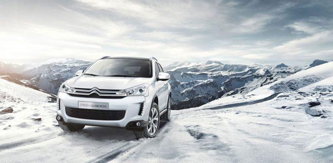 C4 Aircross, il piacere della guida anche in inverno