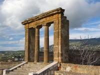 Sambuca di Sicilia, panorama del Belvedere