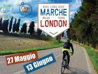 Marche – London promozione in Europa in bicicletta