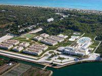 Visuale dall'alto del complesso dell'Iberhotel Apulia